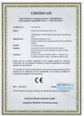 CE Certificate of Film Blowing Machine
