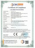 CE certificate of TG series led flood light