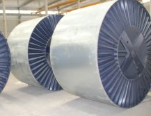 conductors in 100% STEEL REEL COVERED BY steel sheet