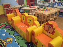 kid PVC cartoon sofa set