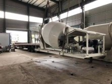 5CBM Concrete mixer drum exported to South Aisa 2019. 10