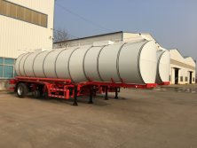 Bitumen tanker semi trailer for exporting