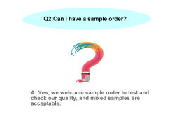 Can I have a sample order?