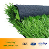 soccer artificial grass with spine shape yarn