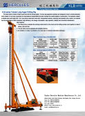 Long Auger Drilling Rig