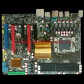 LGA 1366-X58 motherboard with 5 SATA and 6 USB