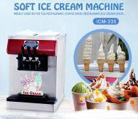 table top mini soft ice cream machine