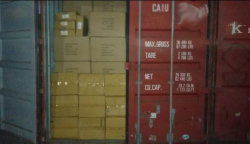 A part of shipment