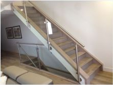 Canada Vancouver Staircase Glass Railing Project