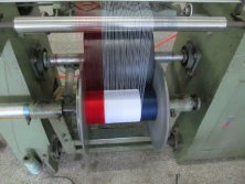 pull yarn machine