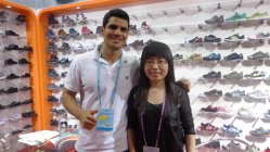 The client come to visit us in Canton Fair