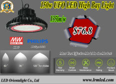 Promotion offer for 150w UFO led high bay $76.8, expiration date March.31