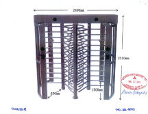 Tianhong Full Height Turnstile Approved by Japanes Mitsubushi Heavy Industry