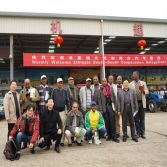 Afican Customers Visit the Machinery Supermarket