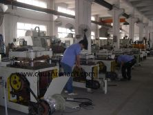 Die cutting machine workshop