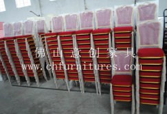 China Nice and Competive Aluminum Stacking Banquet Chair for Catering YC-ZL28