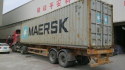 packing 3x24m in 40GP container