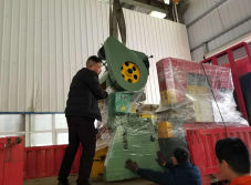 To Colombia - J23-25T power press machine delivery out