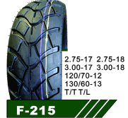 Scooter tire 120/70-12 130/60-13