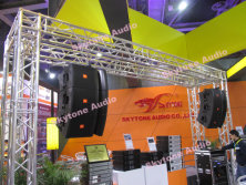 Skytone audio products showed on 2014GET show