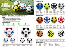 Training Soccer Ball in Glued Technology