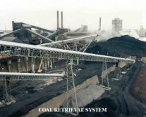 Coal belt conveyor