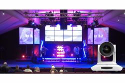 4K Broadcast 3G-SDI HDMI USB IP UHV-500H PTZ Video Camera are good used on Church