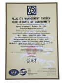 great wall rubber sheet ISO9001 certificates