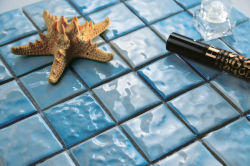 How can I lay mosaic in swimming pool?