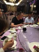Chinese Customer Have A Good Dinner