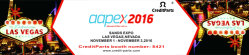 AAPEX show Las Vegas in Nov.1-3,2016