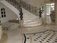 Marble Flooring Tiles & Stairs