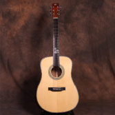 New Product 41 inch All Solid Spruce KOA Custom Acoustic Guitar