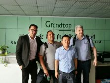 2017.6.1 Canada Customer Visited Us