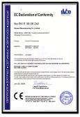 CE Cerficate for Current Transformer