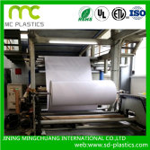 Lamintion pvc film with polyester