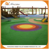 EPDM granules made playground rubber flooring