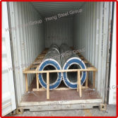 Galvanized Steel Coil Loading