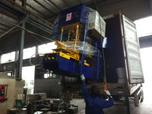 Roof tile machine exporting to South Africa