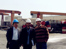 Middle East customers visit our factory