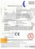 CE Certification of pp nonwoven fabric making machine