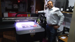 Thumbs up for A1 size 6090 uv printer