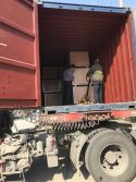load to container of business card cutter machine , eyelet binding machine