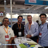 Argentinean Customer in Chinaplas
