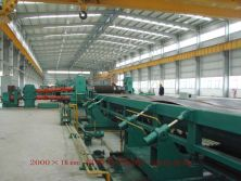 Guangzhou Juyi Steel Pipe Co., Ltd -- 2100*16 Longitudinal Shearing Machine