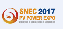 Welcome to visit us at the SNEC PV POWER EXPO 2017
