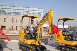 Brazilian customers bulk purchase of XCMG excavators