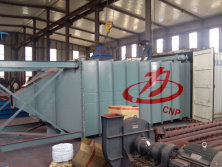 Despatch the dust collector equipment to Saudi Arabic customer