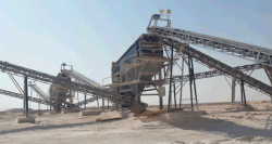 250 Ton/Hour Crusher plant in Saudi Arabia