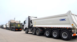 CIMC 3 Axle Tipper Semi Trailer [Jul 01,2015]